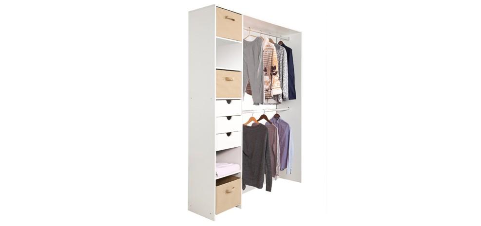dressing blanc milano commandez nos dressings blancs. Black Bedroom Furniture Sets. Home Design Ideas