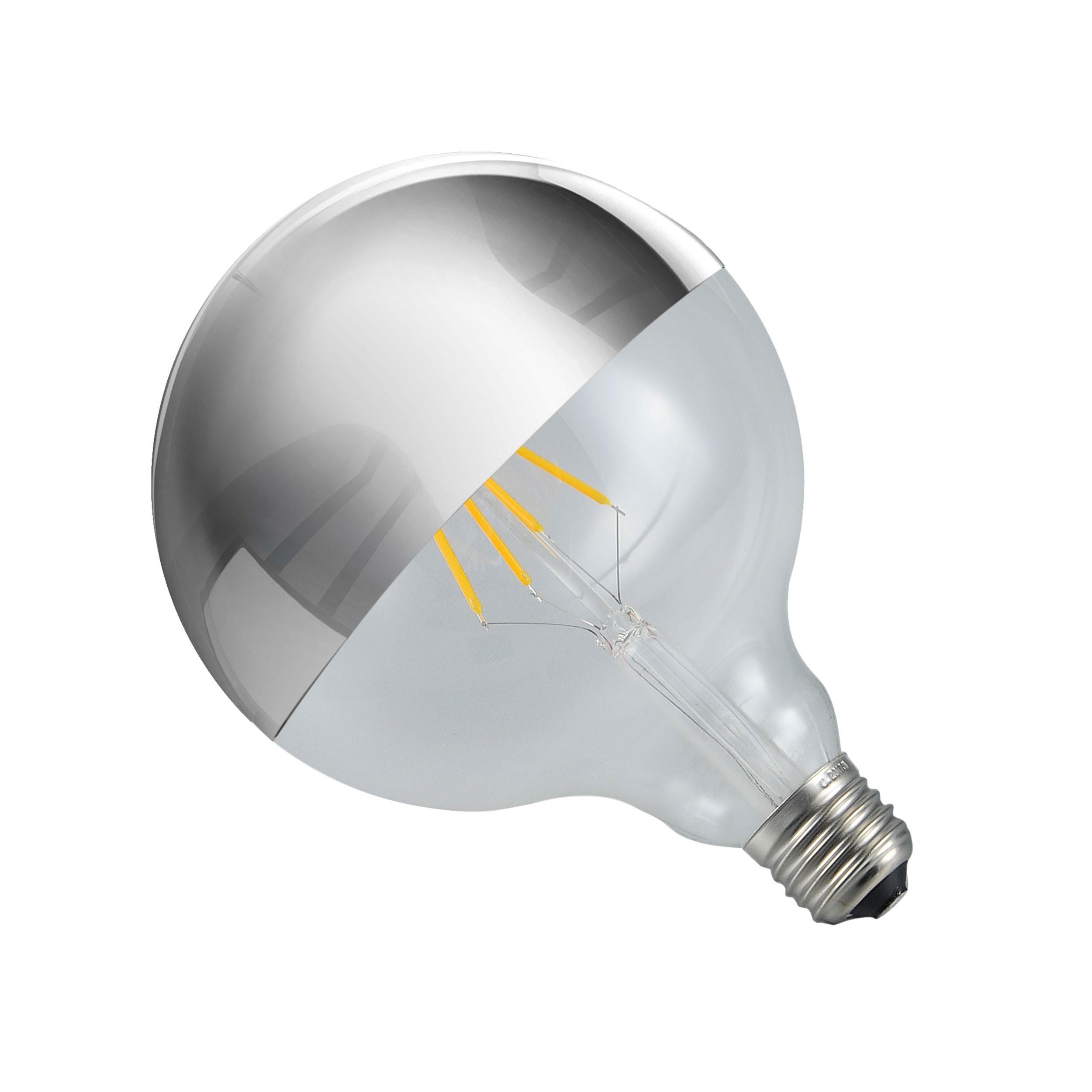 Ampoule globe LED à calotte chromée : achetez les ampoules globe ...