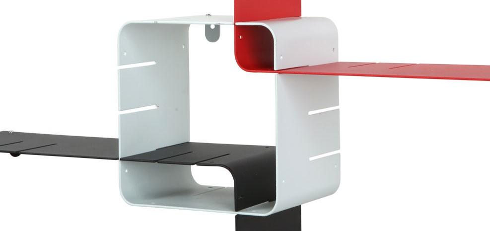 Etagère métallique rouge : choisissez nos étagères métalliques ...
