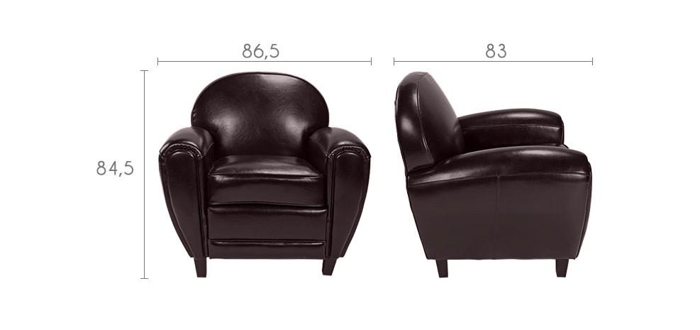 fauteuil club offrez vous un fauteuil club cuir prix usine rdv d co. Black Bedroom Furniture Sets. Home Design Ideas