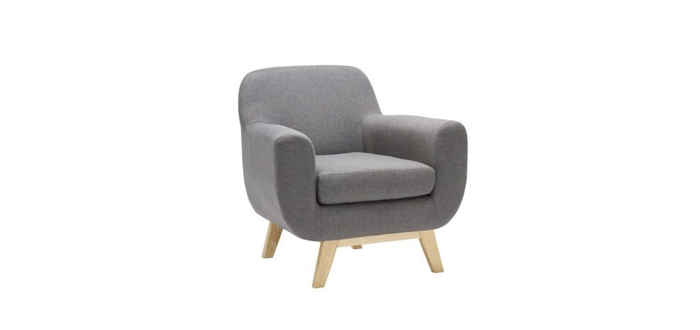 Fauteuil Copenhague gris  adoptez nos fauteuils Copenhague gris à