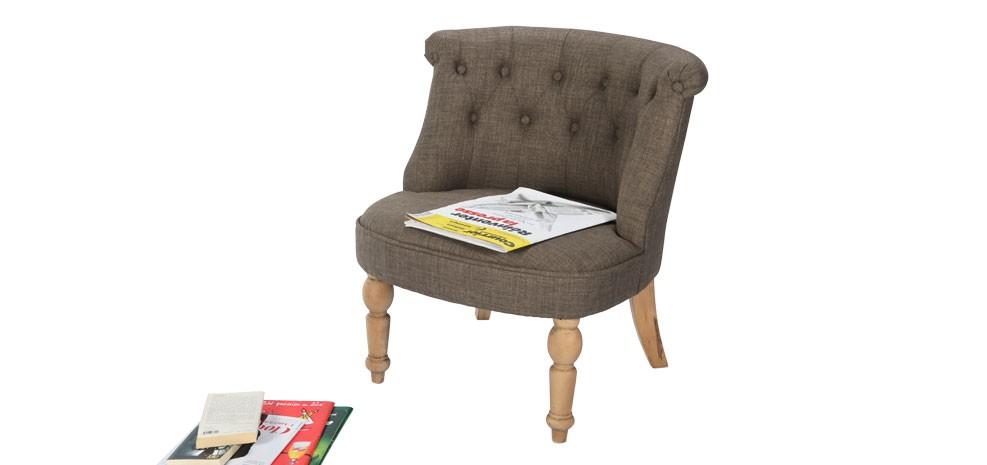 fauteuil crapaud gris et beige d couvrez nos fauteuils. Black Bedroom Furniture Sets. Home Design Ideas
