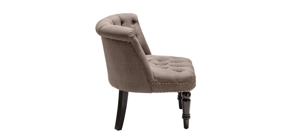 fauteuil crapaud capitonn taupe testez nos fauteuils crapaud capitonn s taupe design rdv d co. Black Bedroom Furniture Sets. Home Design Ideas