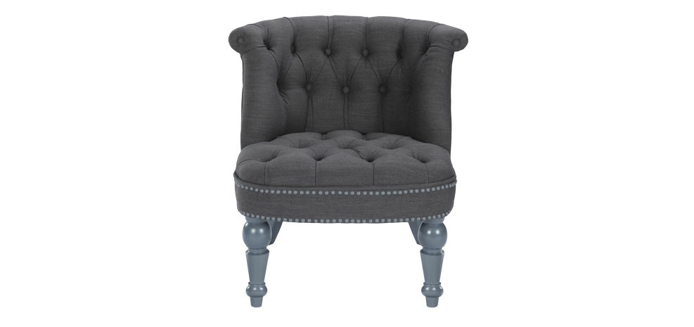 fauteuil crapaud gris fonce 1 place pas cher. Black Bedroom Furniture Sets. Home Design Ideas