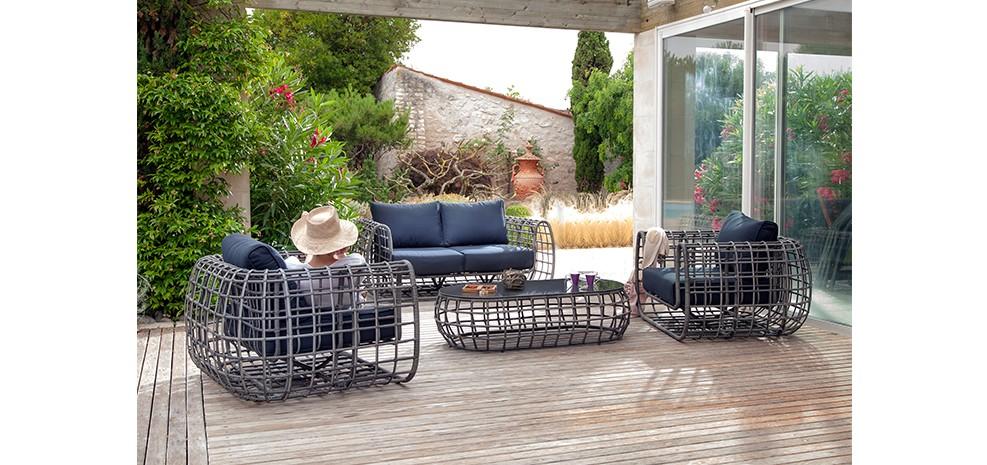 Beautiful Salon De Jardin Design Contemporain Gallery - Amazing ...