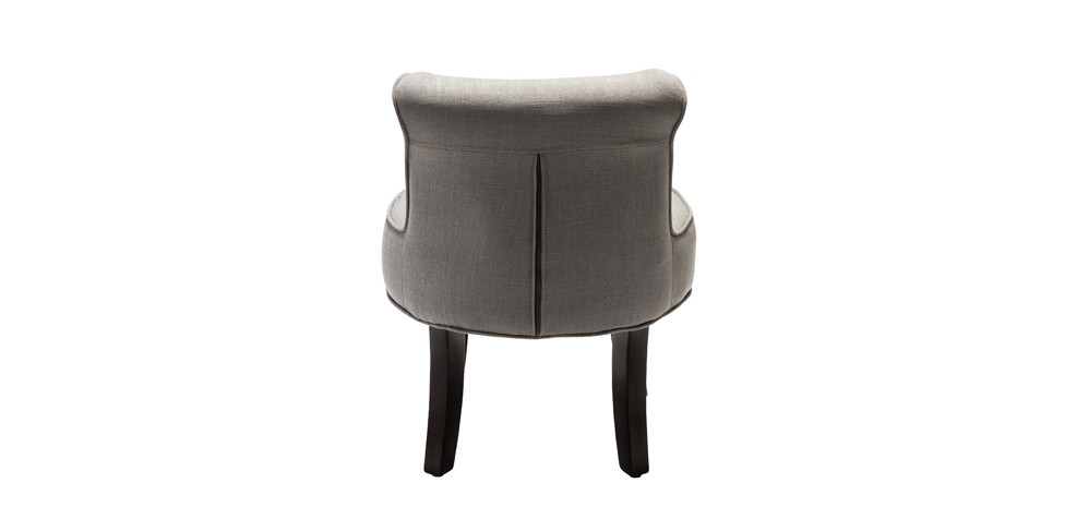 petit fauteuil crapaud gris clair commandez nos petits. Black Bedroom Furniture Sets. Home Design Ideas