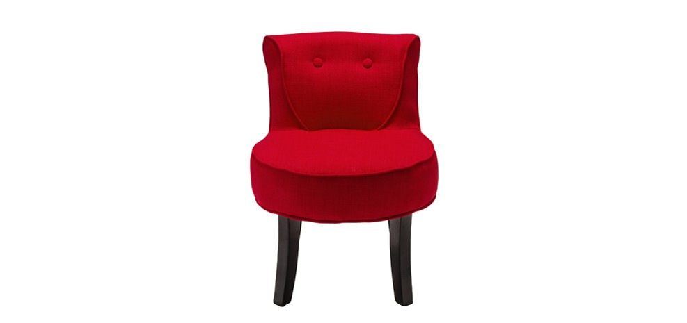 petit fauteuil crapaud rouge choisissez nos petits fauteuils crapaud rouges rdv d co. Black Bedroom Furniture Sets. Home Design Ideas