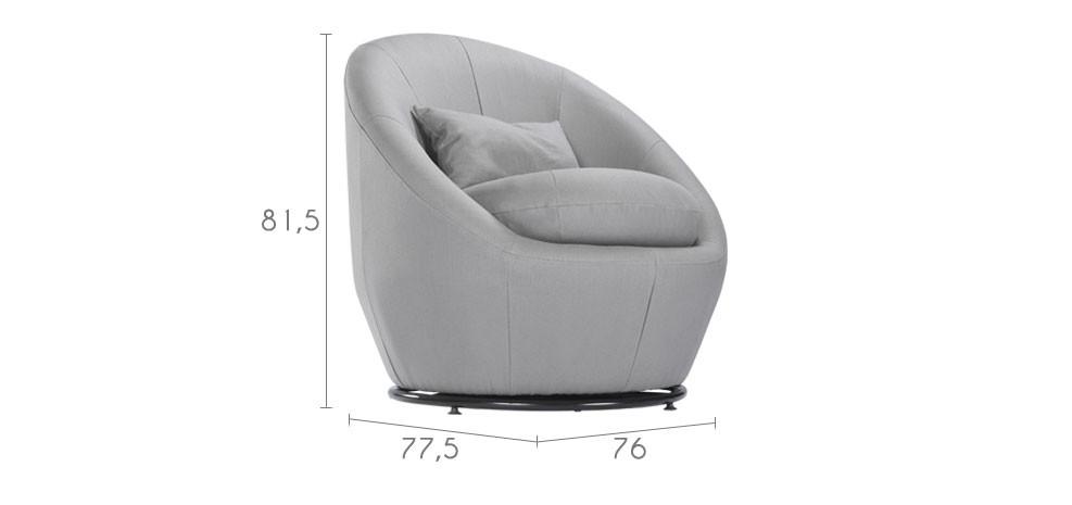 Fauteuil rond achetez nos fauteuils ronds moelleux et  prix