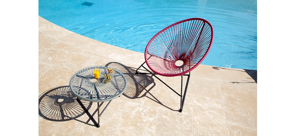 fauteuil figari rose lot de 4 acheter fauteuils figari roses lot de 4 petit prix. Black Bedroom Furniture Sets. Home Design Ideas