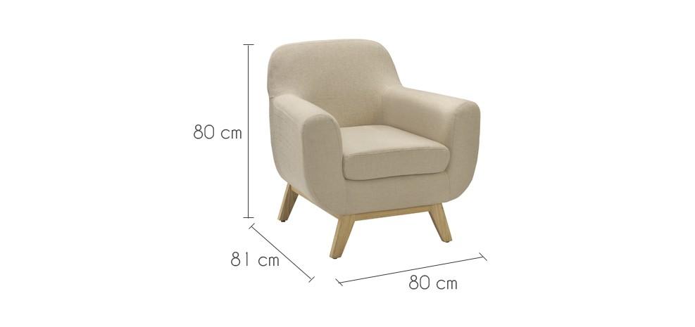 Fauteuil Copenhague beige adoptez nos fauteuils Copenhague beiges