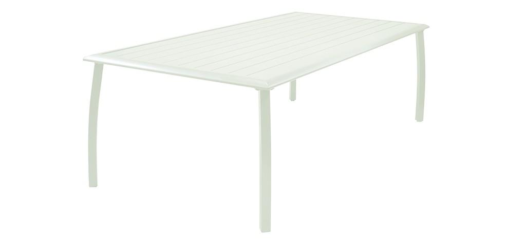 Table De Jardin 180 Cm Livourne Blanche : Choisissez Nos Tables De