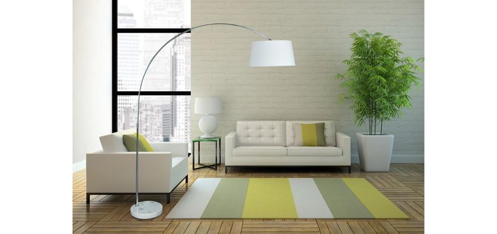 Lampadaire g ant orchid e blanc achetez nos lampadaires for Decoration a petit prix