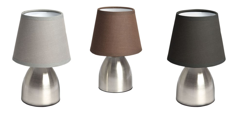 lampe chevet touch marron 5 Incroyable Lampe Chevet Taupe Ksh4