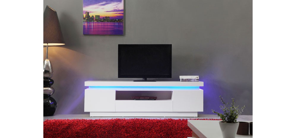 Meuble tv led commandez nos meubles tv led design mini for Meuble tele a led