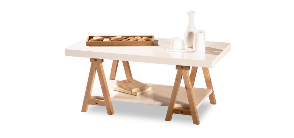 table basse blanche design : acheter cette table basse laquée