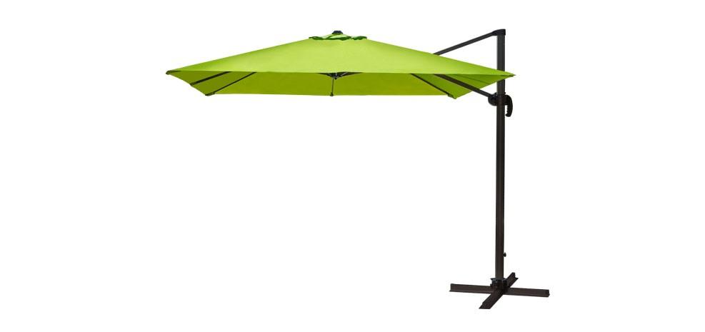 Parasol d port st tropez vert commandez nos parasols - Parasol deporte vert anis ...