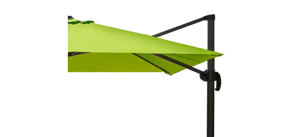 parasol d port st tropez vert commandez nos parasols carr s verts rendez vous d co. Black Bedroom Furniture Sets. Home Design Ideas