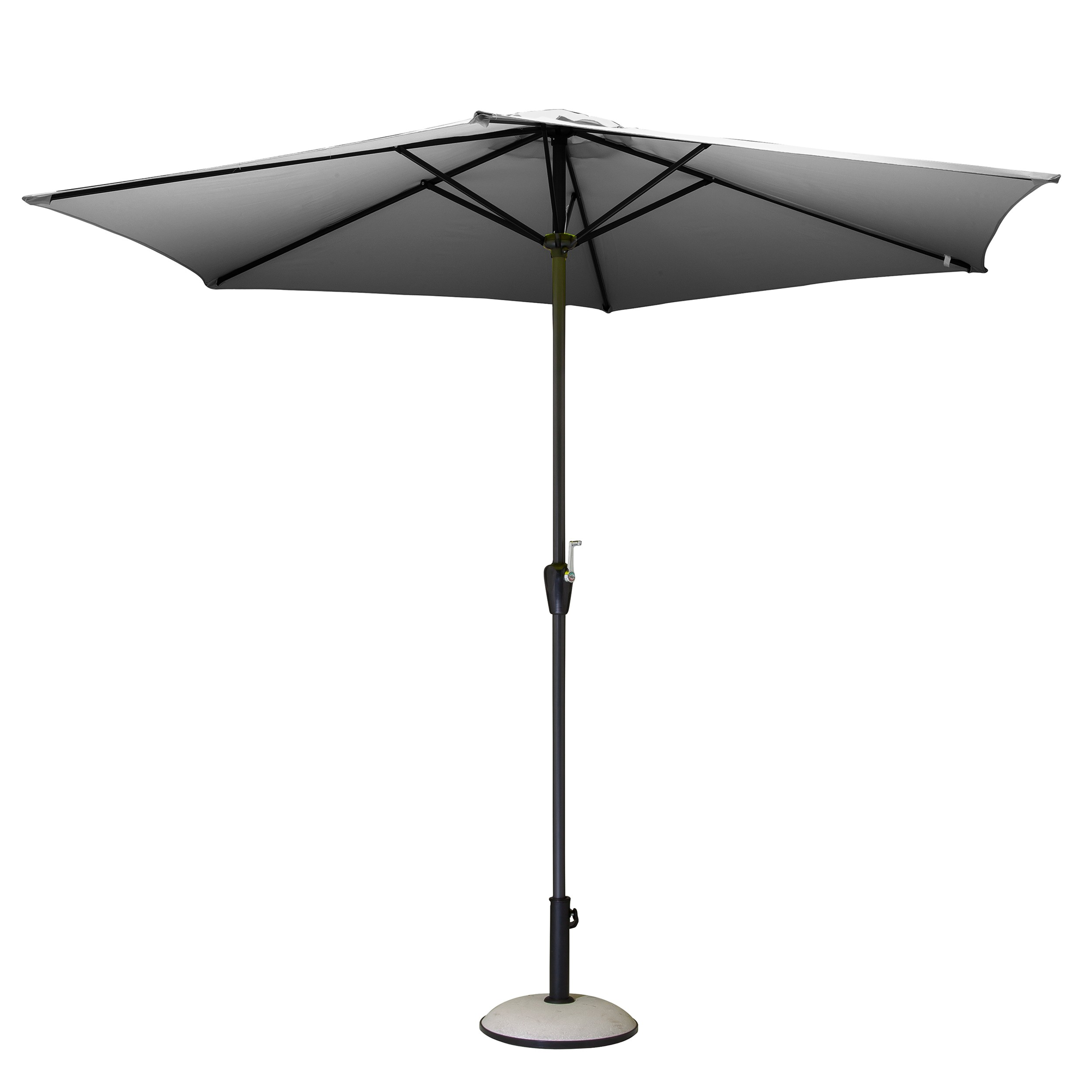 parasol tahoe gris commandez nos parasols tahoe gris design rendez vous d co. Black Bedroom Furniture Sets. Home Design Ideas