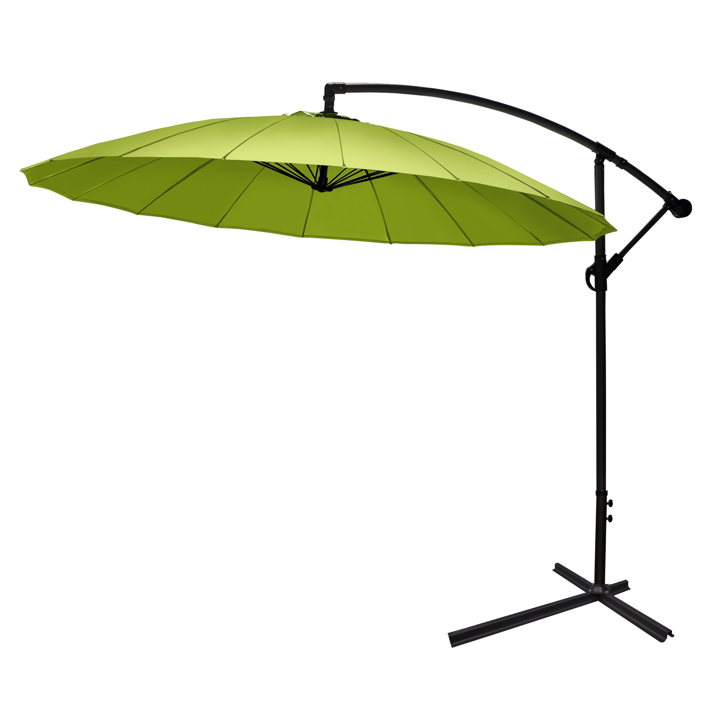 parasol vert commandez nos parasols verts design petit prix rvdd co. Black Bedroom Furniture Sets. Home Design Ideas