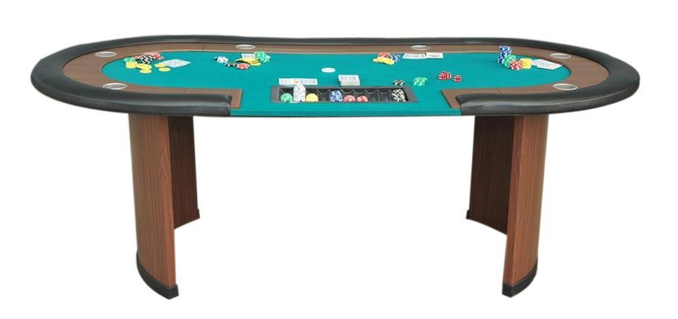 table de poker tapis vert achetez nos tables de poker rdv deco. Black Bedroom Furniture Sets. Home Design Ideas