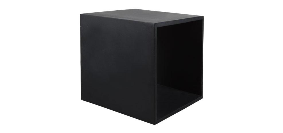 Cube en b ton noir commandez nos cubes en b ton noirs rdv d co - Prix du metre cube de beton ...