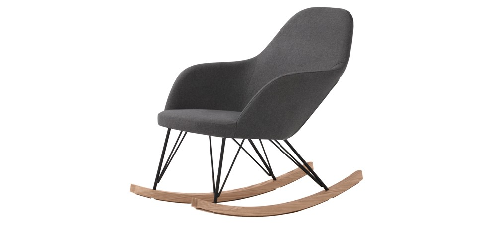 rocking chair malibu gris commandez nos fauteuils. Black Bedroom Furniture Sets. Home Design Ideas