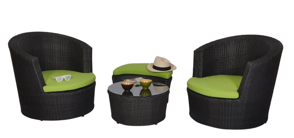 salon de jardin vert achetez nos salons de jardin prix mini rdv d co. Black Bedroom Furniture Sets. Home Design Ideas