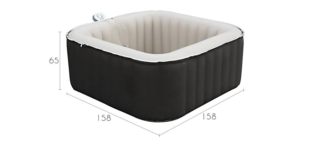 spa jacuzzi gonflable achetez nos spas gonflables design prix d 39 usine rvd co. Black Bedroom Furniture Sets. Home Design Ideas