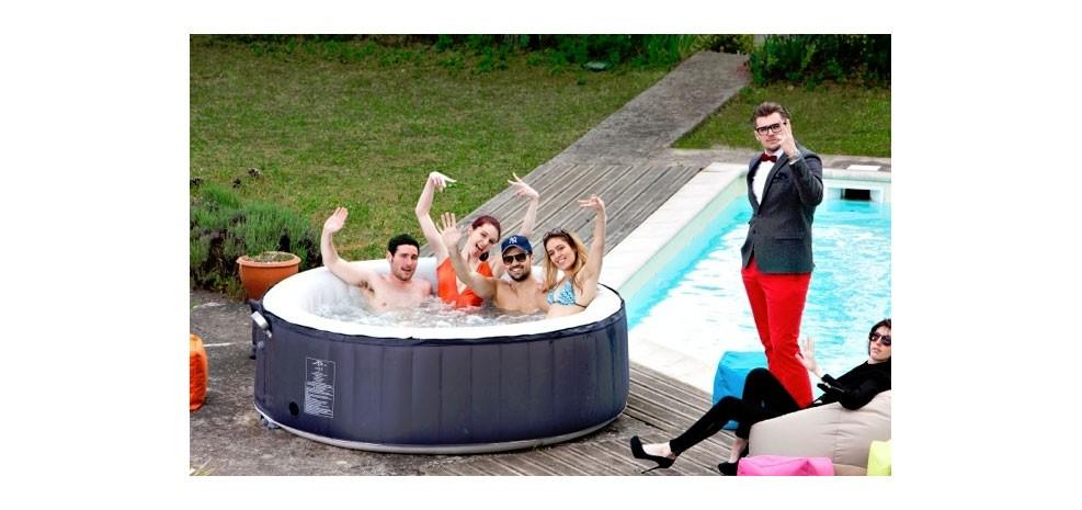 spa jacuzzi gonflable commandez nos piscines gonflables. Black Bedroom Furniture Sets. Home Design Ideas
