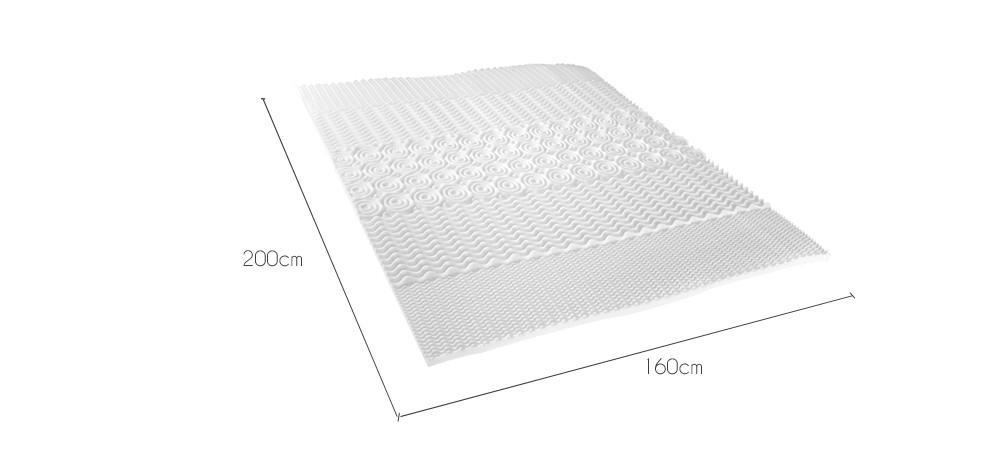 surmatelas mousse haute densit 160 x 200 cm achetez nos surmatelas 160 x 200 rdv d co. Black Bedroom Furniture Sets. Home Design Ideas