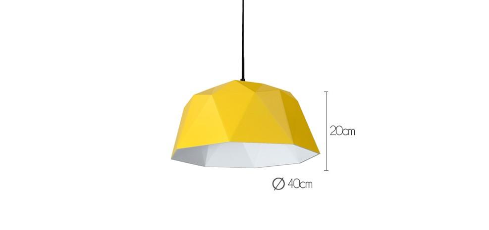 suspension shinto jaune d couvrez nos suspensions shinto jaunes rdv d co. Black Bedroom Furniture Sets. Home Design Ideas