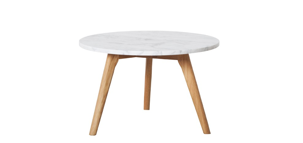 Table basse stone large adoptez nos tables basses stone large rendez vous d2co - Table basse blanche et bois ...