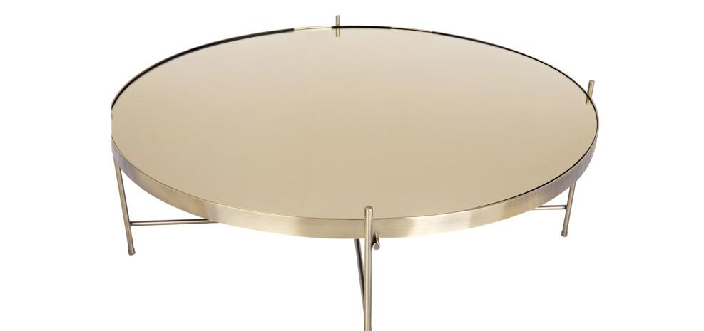 table basse doree. Black Bedroom Furniture Sets. Home Design Ideas