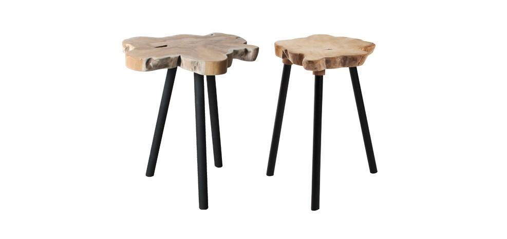 Table basse indus achetez nos tables basses indus par lot de 2 rendez vou - Table basse petit prix ...