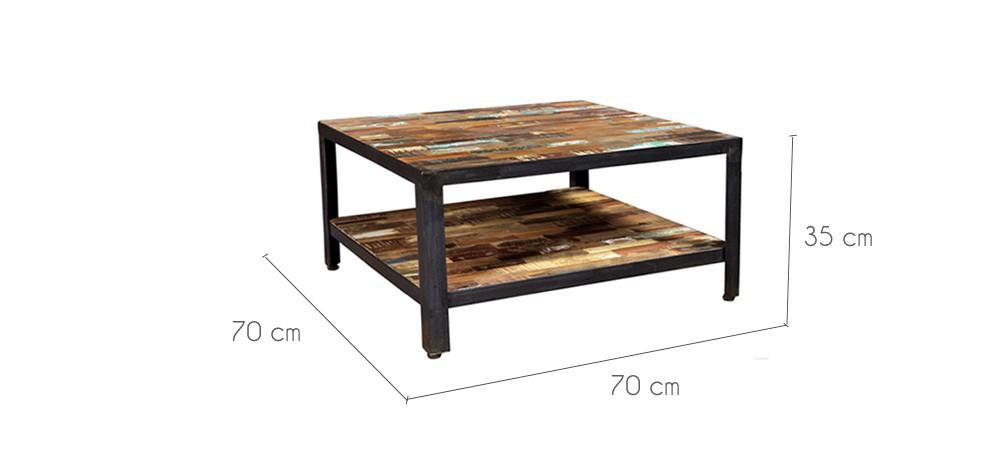 table basse arati carr e commandez les tables basses arati carr es rdv d co. Black Bedroom Furniture Sets. Home Design Ideas