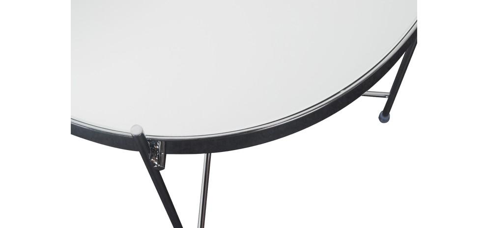 table basse en m tal valdo chrome d couvrez nos tables basses en m tal valdo chrome rdv d co. Black Bedroom Furniture Sets. Home Design Ideas