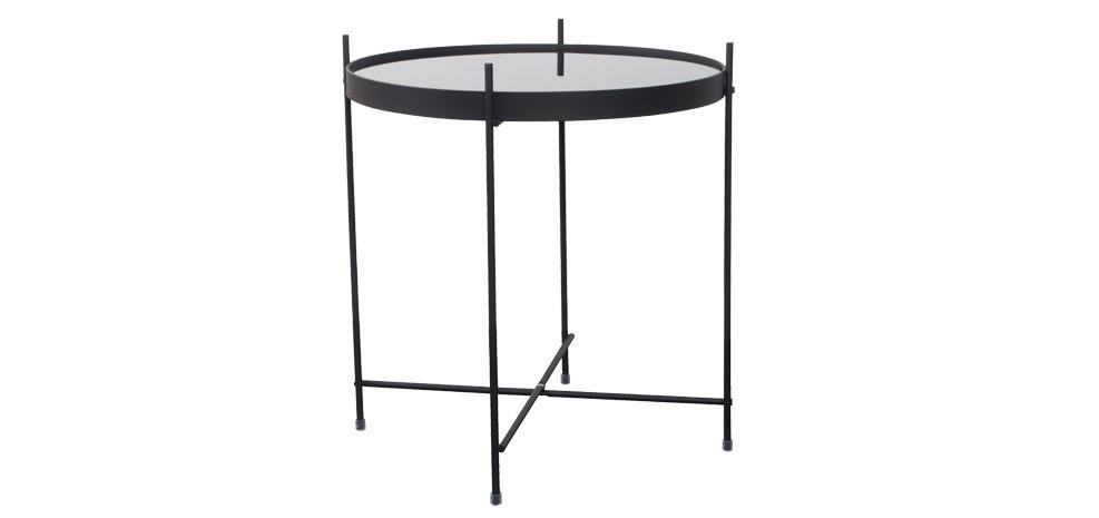 table basse en m tal valdo noire choisissez les tables. Black Bedroom Furniture Sets. Home Design Ideas