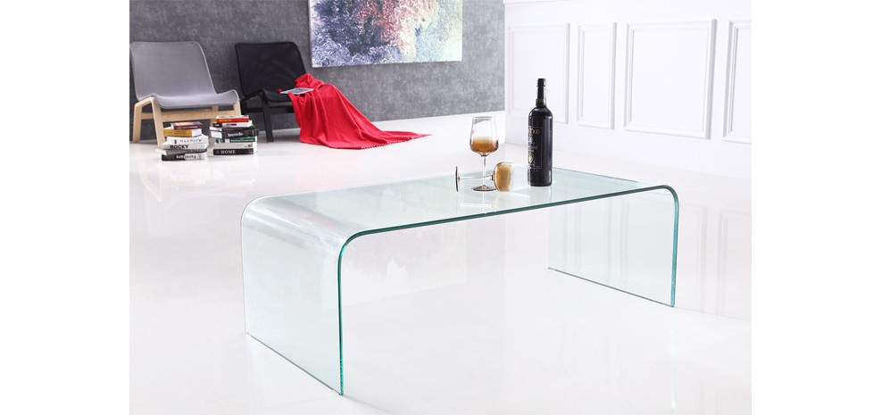 Table basse en verre commandez nos tables basses en verre prix d 39 usin - Table design belgique ...