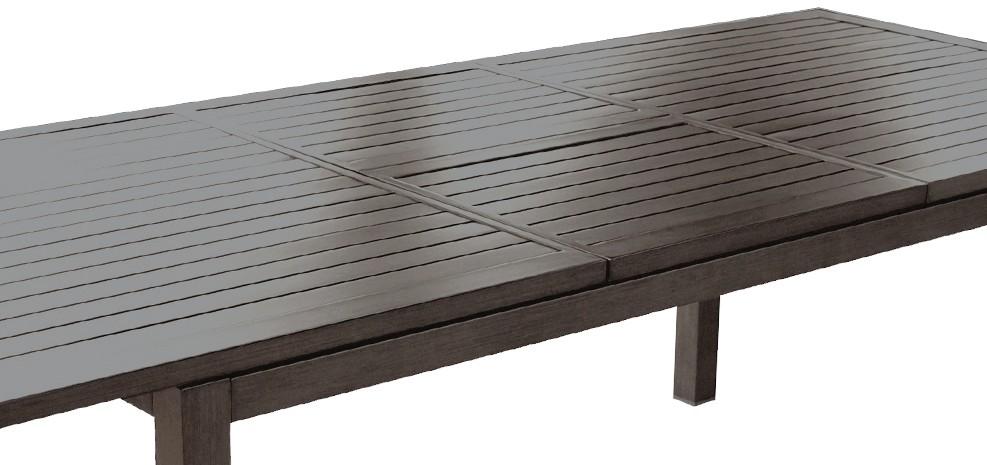 Emejing table de jardin extensible en aluminium photos - Table de jardin amazon ...