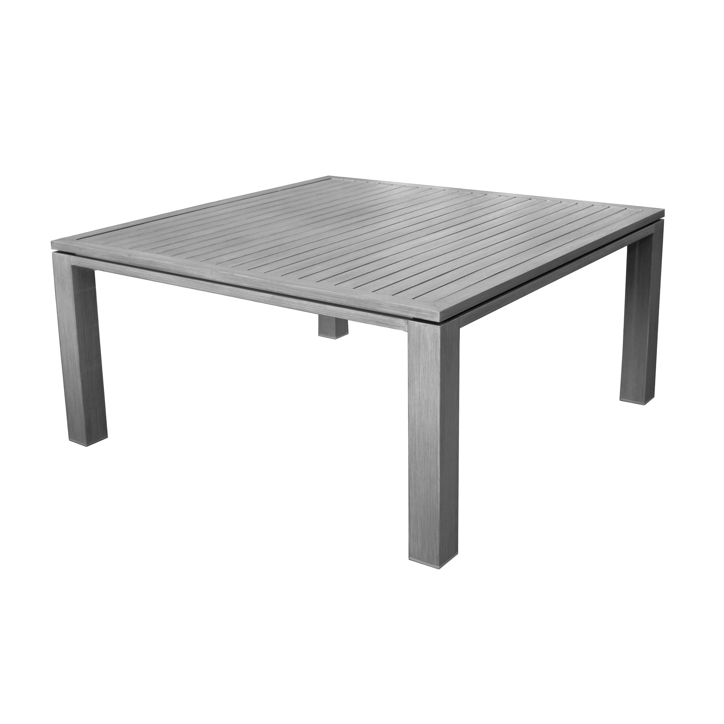 Table de jardin carr e 160 cm marbella grise commandez for Table de jardin prix
