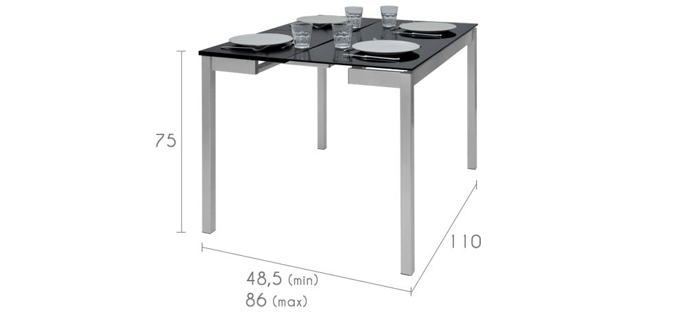 table manger extensible achetez nos table s manger. Black Bedroom Furniture Sets. Home Design Ideas