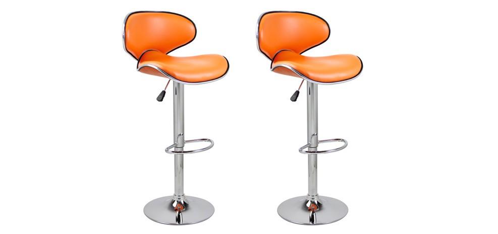 tabouret bar orange mini prix - Tabouret Bar Orange