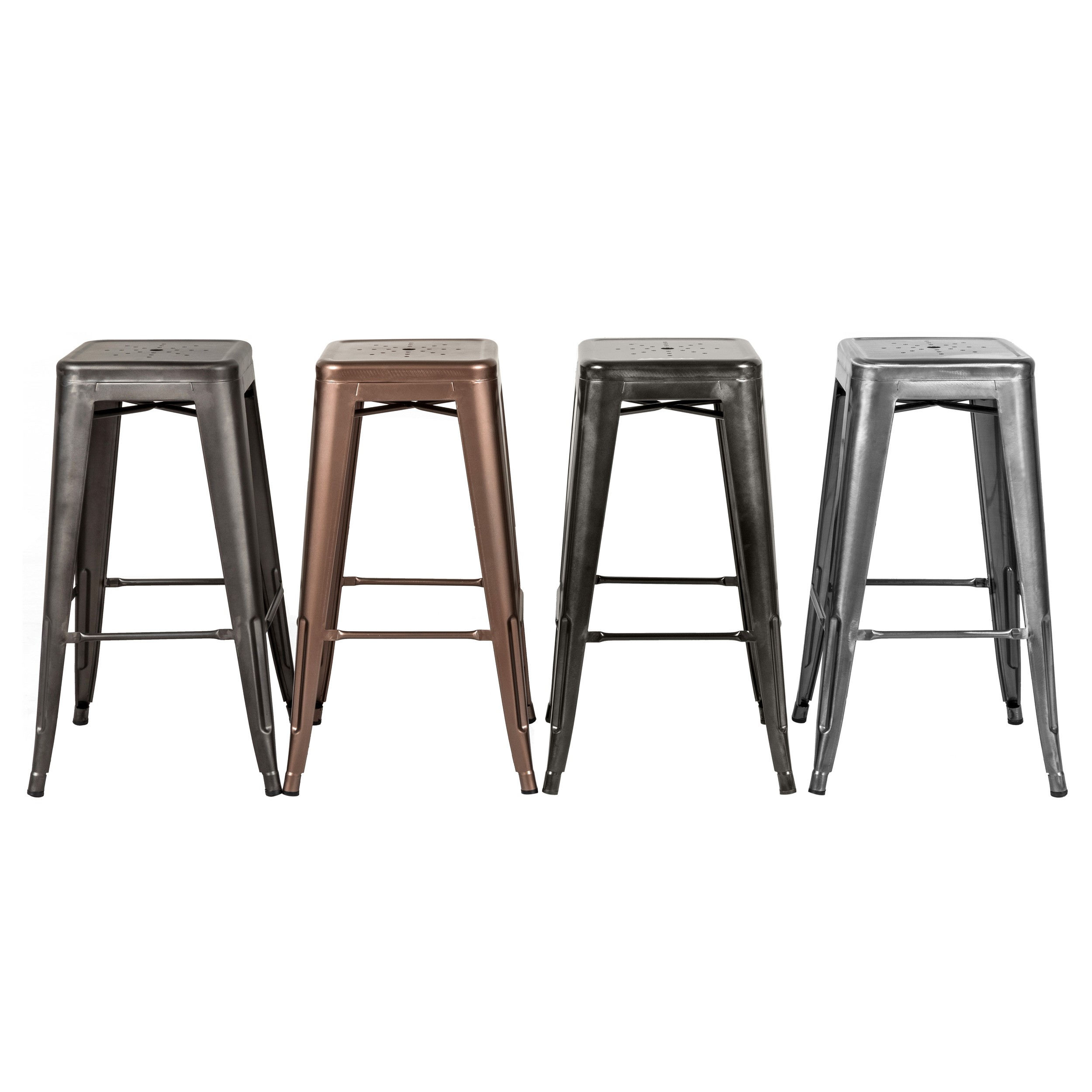 tabouret de bar indus anthracite lot de 2 adoptez les tabourets de bar indus anthracite rdv d co. Black Bedroom Furniture Sets. Home Design Ideas