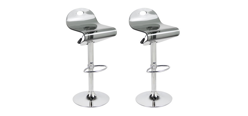 Tabouret de bar wave noir lot de 2 adoptez nos - Amazon tabouret de bar ...