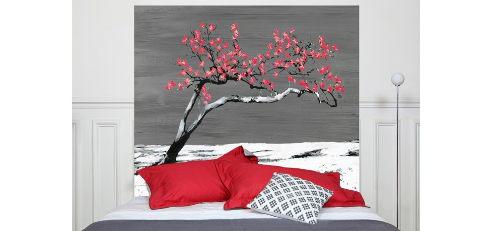 t te de lit renaissance rouge commandez nos t tes de lit renaissance rouges design rdv d co. Black Bedroom Furniture Sets. Home Design Ideas