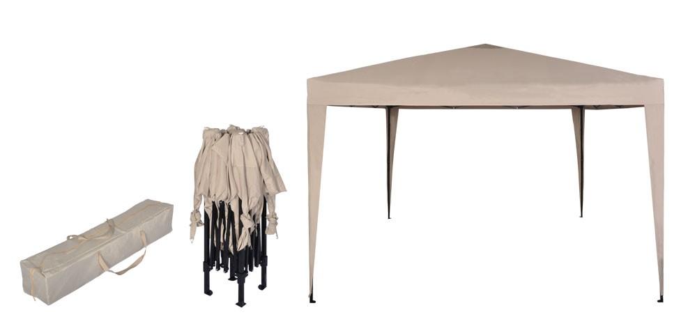 tonnel pliante great interouge tente pliante m en acier et polyester gm tonnelle pliante. Black Bedroom Furniture Sets. Home Design Ideas