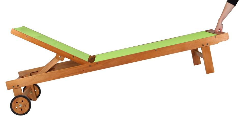 transat vert en bois achetez nos transats verts en bois d 39 eucalyptus rdvd co. Black Bedroom Furniture Sets. Home Design Ideas