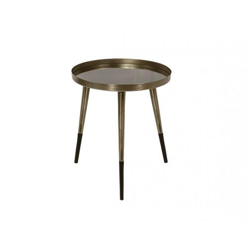 Table basse ronde Almalu laiton