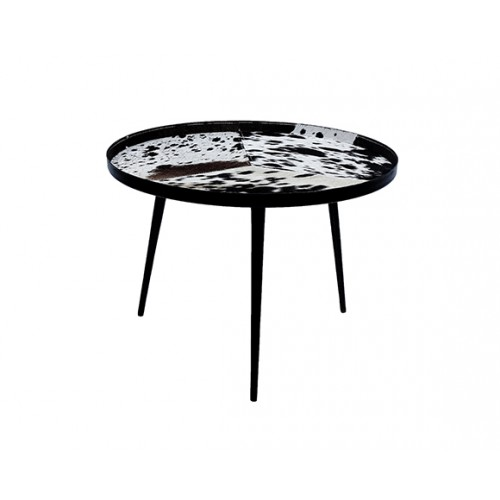 Table basse ronde Kerben