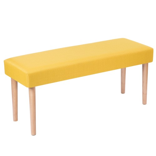 banc octave jaune testez nos bancs octave jaune petit. Black Bedroom Furniture Sets. Home Design Ideas